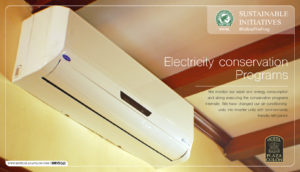 Sustainable hotel energy conservation