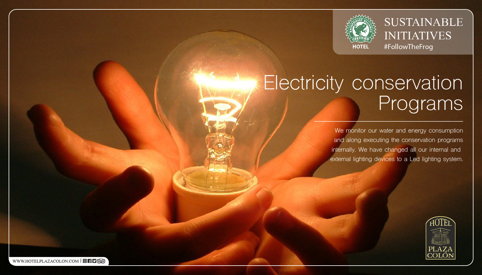 Sustainable hotel electricity